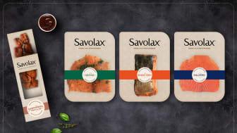 Frisimmande premiumnyhet i fiskdisken – Savolax lanserar i dagligvaruhandeln med ny varumärkesidentitet och förpackningsdesign