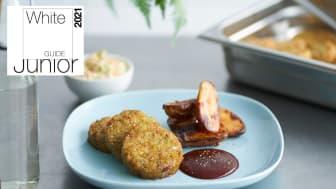 Lecora Grönsaksbiff Crispy Chili är en av årets gröna nyheter från Orkla FoodSolutions.