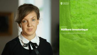 Johanna Landberg, Hållbarhetsansvarig SPP