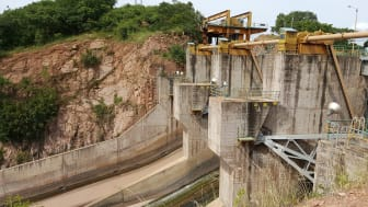 The Itezhi Tezhi Dam in Zambia.   Photo: Multiconsult