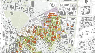 Översikt, Campusplan Lund