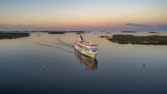 Silja Symphony i Mariehamn 2021