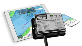 iPad integration afloat with Digital Yacht's new WLN10 NMEA gateway