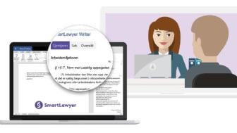 Jobb smart med SmartLawyer Writer