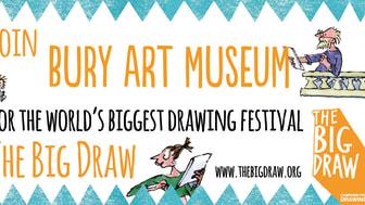 The Big Draw at Bury Art Museum