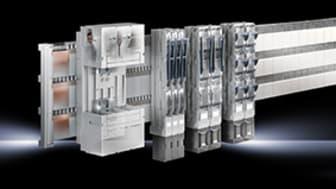 Rittal Power Engineering med ny modul för säker projektering av 185 mm skensystem