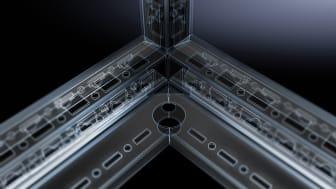 Genom högsta datakvalitet och konsistens inom teknik skapar Rittal förutsättningarna för att optimera de fysiska arbetsflödena - med betydande effektivitetsvinster för panelbyggare och apparatskåpstillverkare.