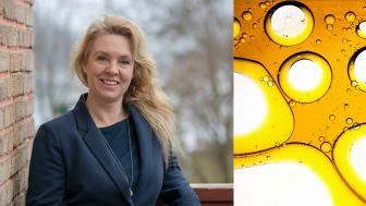 """Maria Kosinski är Group Portfolio Manager på Ragn-Sells och driver konceptet """"Hållbar Verkstad""""."""