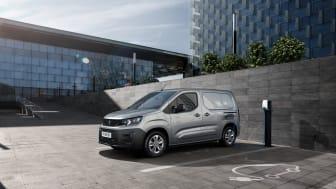 Nya Peugeot e-Partner.