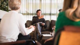 Bild: Stordalen coachar unga företagare från Bollnäs