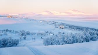 Ramundbergets topp, vinter