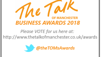 Finegreen shortlisted as a finalist for the upcoming Talk of Manchester Business Awards 2018.