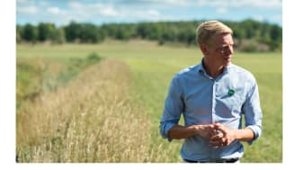 Skärmdump från Klimatklubben.se och partiledarintervjun med Per Bolund, Miljöpartiet.