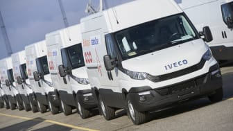 182 st Iveco Daily med 8-stegade automatlådan Hi-Matic till Statoil