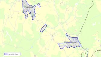 Karta över kokrekommendationer i Eslövs kommun 2013-10 - Billinge och Stockamöllan
