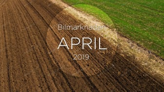 Bilmarknaden april 2019