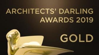 HALFEN erhåller Arkitektens Darling® Gold Award 2019