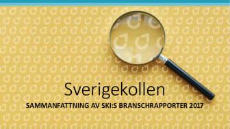 Nu publicerar vi Sverigekollen - en sammanfattning av SKI:s samtliga branschstudier 2017