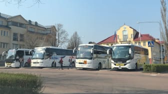 The Åland Government signed an agreement with Hogia Public Transport Systems to supply a system that will give passengers improved information about their journeys.