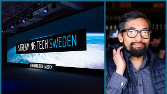 Jonas Rydholm Birmé, pressansvarig för Streaming Tech Sweden