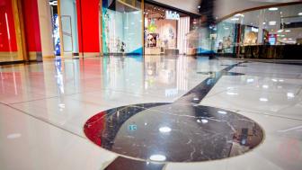 Golvimporten lägger golv i Mall of Scandinavia