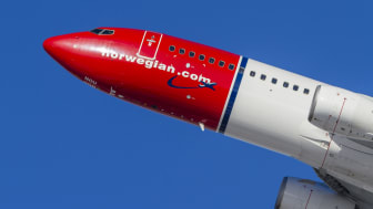 Norwegians Boeing 737-800. Photo: Foto David Charles Peacock.