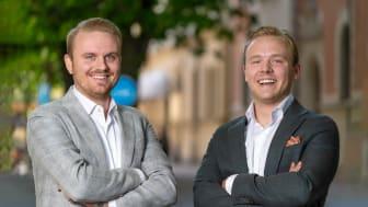 Joel Halling & Robin Kaneteg - Co-founders of ROI.