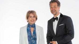 Felix Burda Award 2021. Christa Maar und Wayne Carpendale