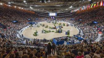 2019 års Gothenburg Horse Show bjöd som vanligt på magisk stämning. Foto: Johan Lilja