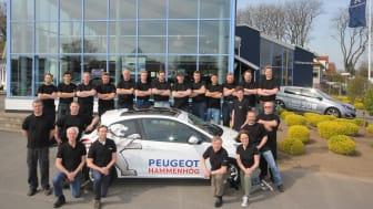 Sture Nilssons Bil AB i Hammenhög Årets Peugeot-återförsäljare