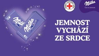 Kampaň Milka & ČČK - Čas na jemnost