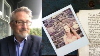 Årets stipendiater Johan Stenström och Charlotte Bellamy. Foto: Privat.