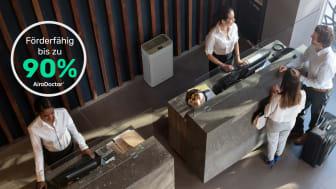 Überbrückungshilfe III: AiroDoctor Luftreiniger bis zu 90% förderfähig