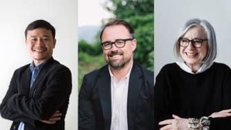 Fr v: Vo Trong Nghia, Kelly Alvarez Doran och Sevil Peach.