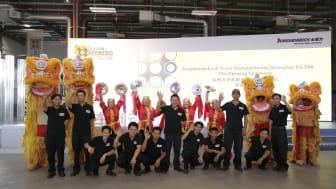 Ny truckfabrik i Kina för Jungheinrich