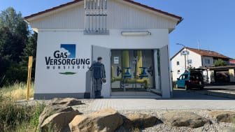 Inbetriebnahme Gasstation Wunsiedel_1
