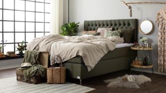 Cumulus stålgrå sängmiljö