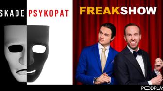 Freakshow och Älskade psykopat kan vinna Årets podd