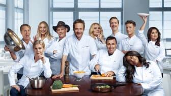 SESONGPREMIERE PÅ TV3: Camp kulinaris – en salig røre av kjendiser, konflikter og kokkekunst