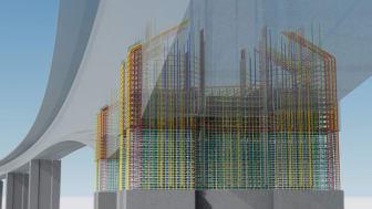 Innovatiivisuus ja yhteistyö siivittivät Randselvan sillan maailman parhaaksi BIM-projektiksi
