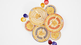 A rhapsody of colour and detail: Rosenthal meets Versace Medusa Rhapsody collection,