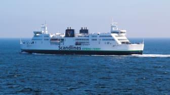 EU støtter atter Scandlines' grønne initiativer
