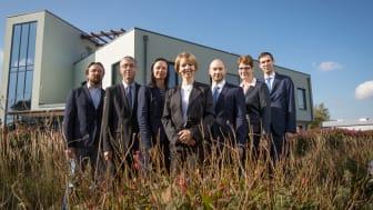 Sehen im Klärschlamm eine Rohstoffquelle mit Potenzial: die Mitglieder der Geschäftsführung der Veolia Klärschlammverwertung Deutschland GmbH