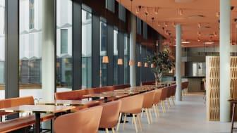 Grow Hotel i Solna strand med inredning signerad Note Design Studio. Foto: Jonas Lindström Studio