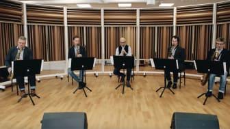 Bohuslän Big Band uruppför Jubilee Theme för att fira Musikens år 2021