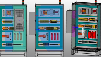 Smart design av klimatisering ger energieffektiva kontrollskåp