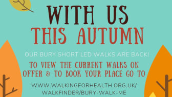 Join a led walk and beat the lockdown blues!