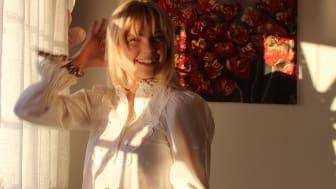 Konstnär Tilde Karlsson. Fotograf Ellen Bro-Nygårdhs.