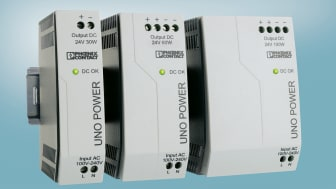 New Product Line: Power Supplies for Compact Control Cabinets
