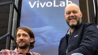 """Läkarna och entreprenörerna Fredrik Bokvist och Lars Thelin, Vivolab är redo att lansera sin första medicintekniska produkt för barn; """"- När Covid-19 kom in i bilden blev det ännu tydligare med vikten av att kunna andas ren luft."""""""